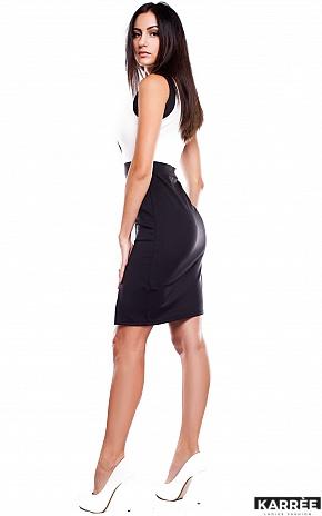 Платье Хейвен, Черный - фото 4