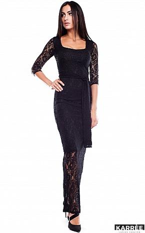 Платье Стерлинг, Черный - фото 2
