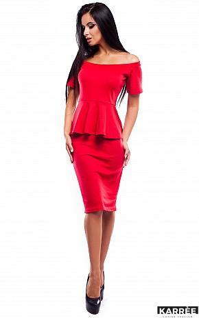 Платье Париж, Красный - фото 1