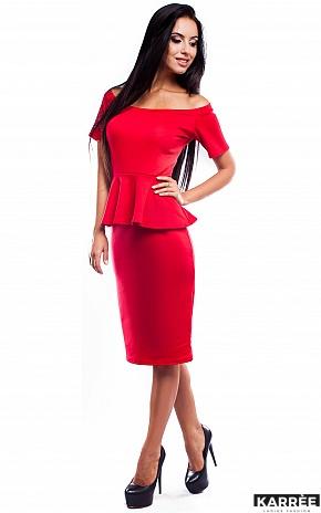 Платье Париж, Красный - фото 2