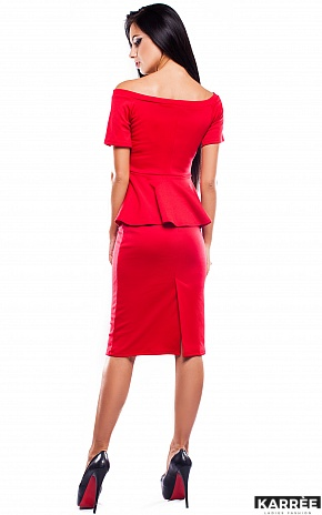 Платье Париж, Красный - фото 3