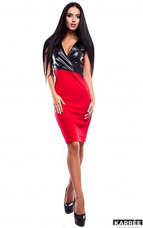 Платье Моника, Красный - фото 1