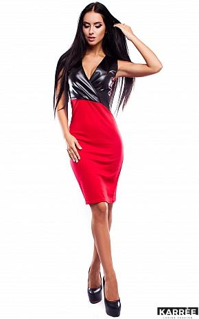 Платье Моника, Красный - фото 2