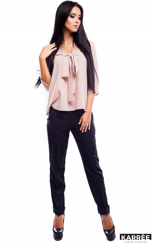 Блуза Аврора, Бежевый - фото 2