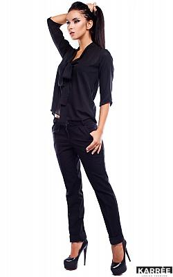 Блуза Аврора, Черный