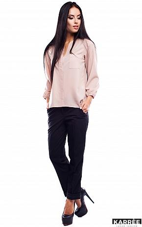 Блуза Франклин, Бежевый - фото 1