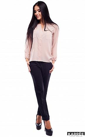 Блуза Франклин, Бежевый - фото 2