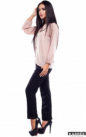 Блуза Франклин, Бежевый - фото 3