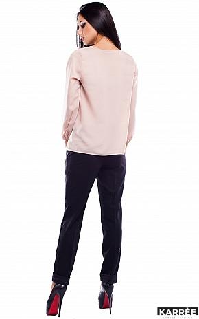 Блуза Франклин, Бежевый - фото 4