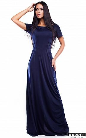 Платье Чили, Темно-синий - фото 3