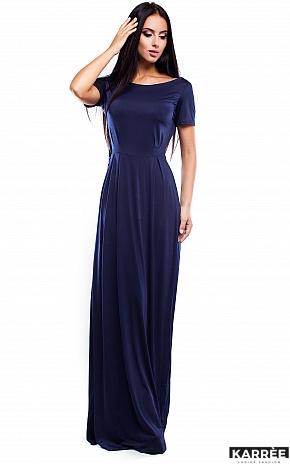 Платье Чили, Темно-синий - фото 1