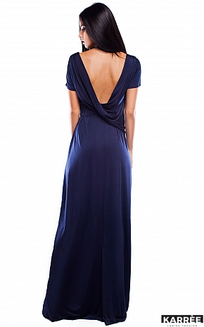 Платье Чили, Темно-синий - фото 2