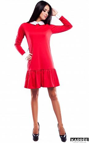 Платье Манго, Красный - фото 1