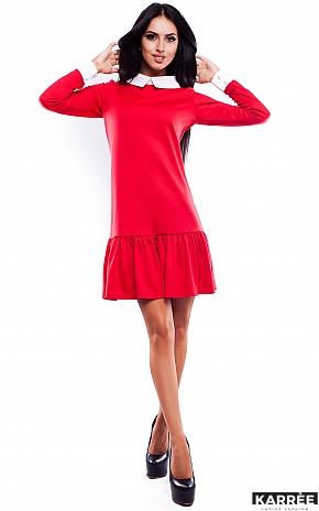 Платье Манго, Красный - фото 2