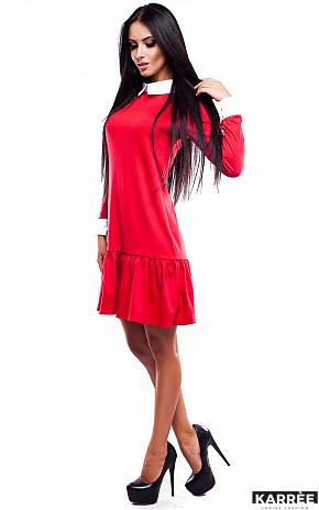 Платье Манго, Красный - фото 3