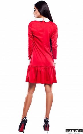 Платье Манго, Красный - фото 4