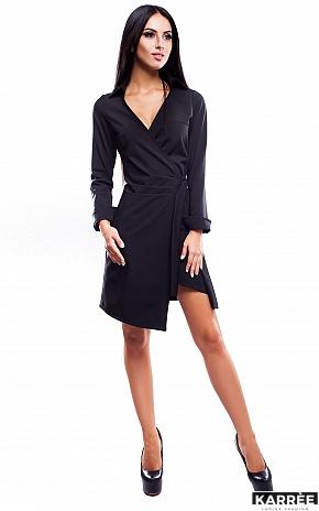 Платье Грация, Черный - фото 1