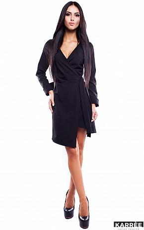 Платье Грация, Черный - фото 2