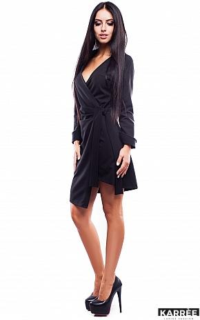 Платье Грация, Черный - фото 3
