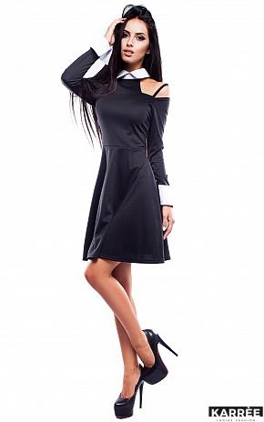 Платье Априори, Черный - фото 2
