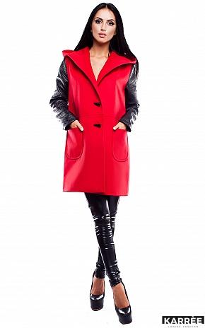 Пальто Бостон, Красный - фото 1