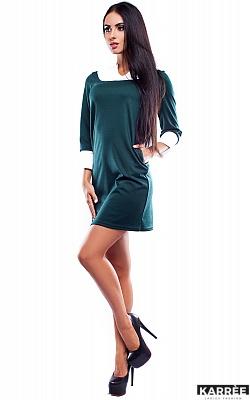 Платье Парма, Темно-зеленый