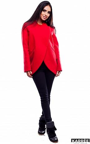 Пальто Марко, Красный - фото 1