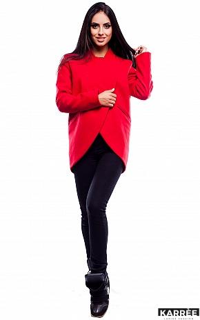 Пальто Марко, Красный - фото 2