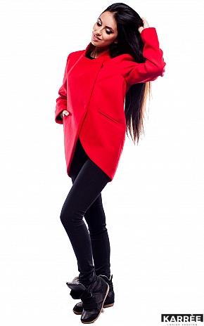 Пальто Марко, Красный - фото 3