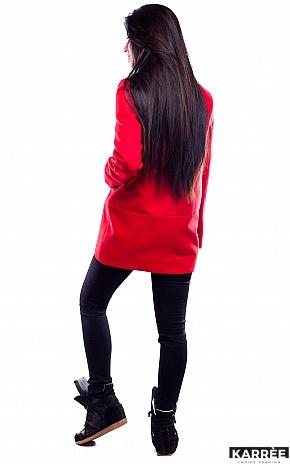 Пальто Марко, Красный - фото 4