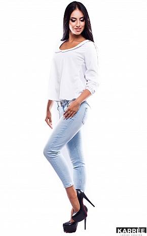 Блуза Марсель, Белый - фото 2