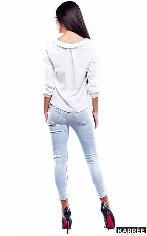 Блуза Марсель, Белый - фото 3