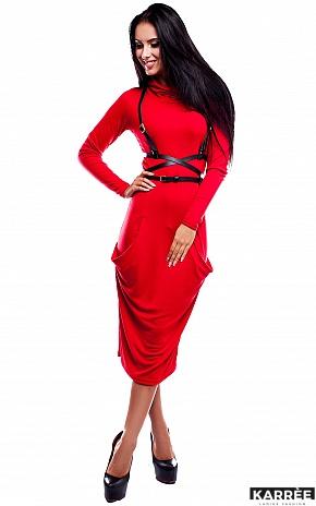 Платье Мадрид, Красный - фото 1