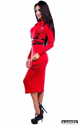 Платье Мадрид, Красный