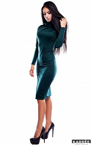 Платье Испания, Темно-зеленый - фото 2