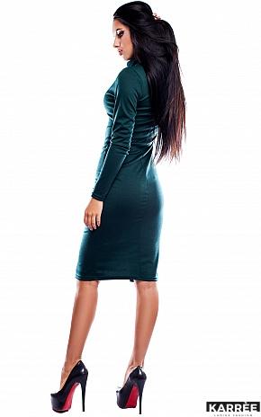 Платье Испания, Темно-зеленый - фото 3