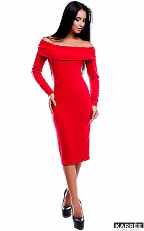 Платье Лея, Красный - фото 1