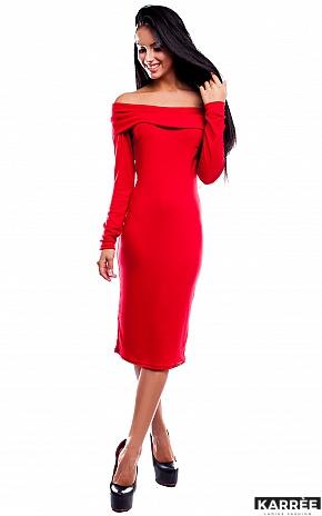Платье Лея, Красный - фото 2