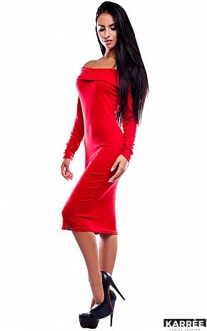 Платье Лея, Красный - фото 3