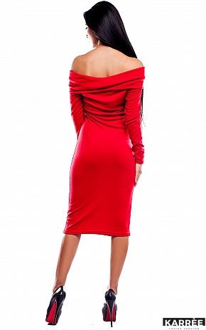 Платье Лея, Красный - фото 4