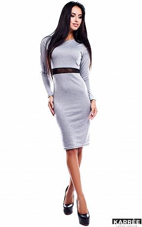 Платье Италия, Серый - фото 1