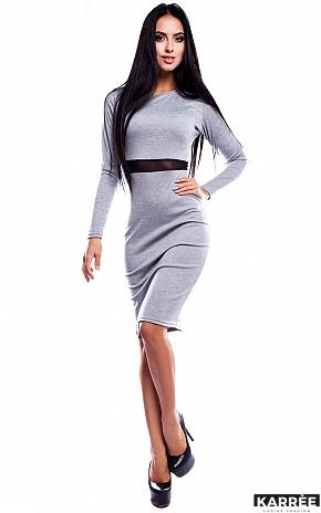 Платье Италия, Серый - фото 2