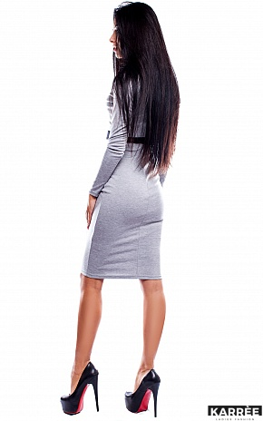 Платье Италия, Серый - фото 3