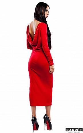Платье Николь, Красный - фото 3