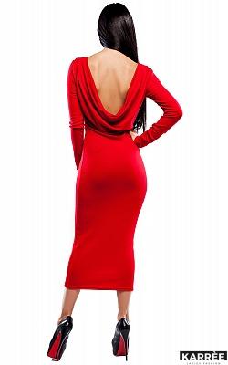 Платье Николь, Красный