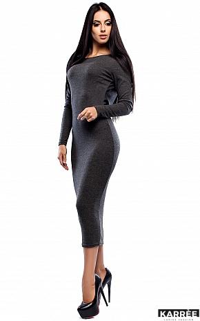 Платье Николь, Темно-серый - фото 4