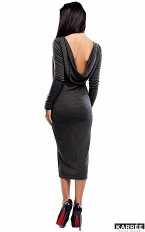 Платье Николь, Темно-серый - фото 2