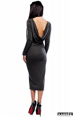 Платье Николь, Темно-серый