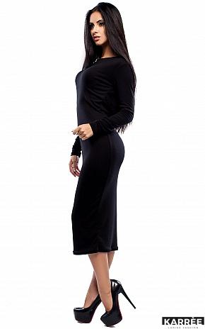 Платье Николь, Черный - фото 4