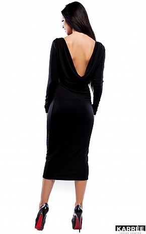 Платье Николь, Черный - фото 2